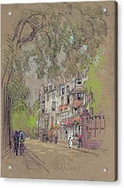 Pennell London, C1905 Acrylic Print by Granger