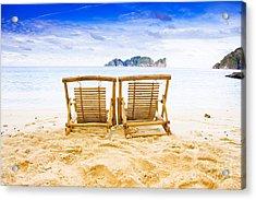 Phi Phi Island Thailand Acrylic Print by Jorgo Photography - Wall Art Gallery