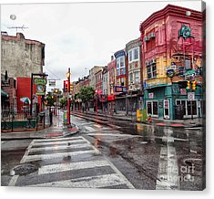 Philadelphia South Street 4 Acrylic Print by Jack Paolini