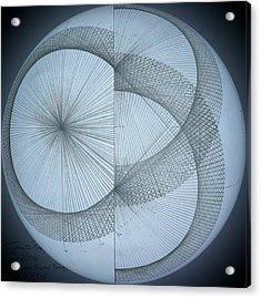 Photon Double Slit Test Acrylic Print by Jason Padgett
