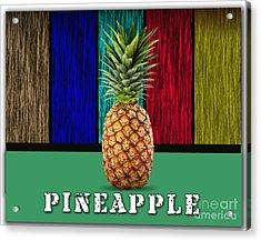 Pineapple Acrylic Print by Marvin Blaine