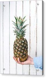 Pineapple Acrylic Print by Viktor Pravdica