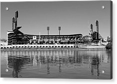 Pnc Park - Home Of The Pittsburgh Pirates Acrylic Print by Mountain Dreams