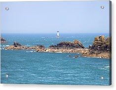 Pointe Du Grouin - Brittany Acrylic Print by Joana Kruse
