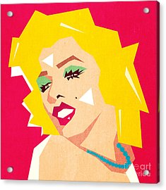 Pop Art  Acrylic Print by Mark Ashkenazi
