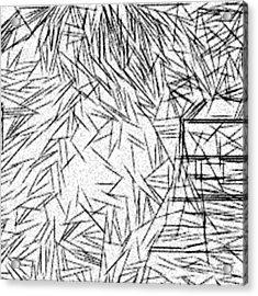 Postmodern Abstraction Acrylic Print by Jonathan Harnisch