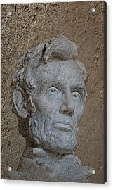 President Lincoln Acrylic Print by Skip Willits
