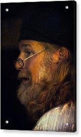 Profile Acrylic Print by John Rivera