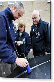 Radiation Emergency Response Monitoring Acrylic Print by Public Health England