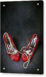 Red Shoes Acrylic Print by Joana Kruse