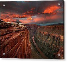 Redemption Acrylic Print by Chris Moore