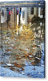 Reflections Acrylic Print by Lucy D