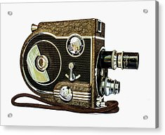 Revere 8 Movie Camera Acrylic Print by Jon Woodhams