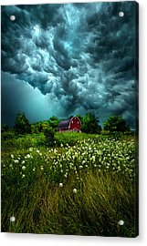 Riding The Storm Out Acrylic Print by Phil Koch