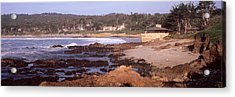 Rock Formations In The Sea, Carmel Acrylic Print by Panoramic Images