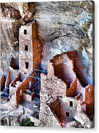 Ruins Acrylic Print by Dan Sproul