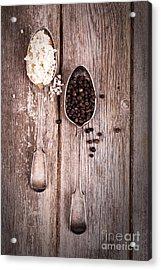 Salt And Pepper Vintage Acrylic Print by Jane Rix