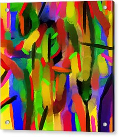 Schreien Acrylic Print by Sir Josef Social Critic - ART