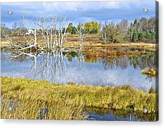 Seasons End Acrylic Print by Frozen in Time Fine Art Photography