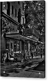 Seattle Coffee Works Acrylic Print by David Patterson