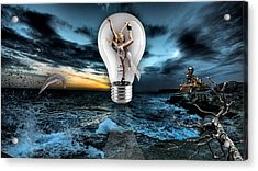 Self Expression Acrylic Print by Marvin Blaine