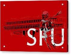 Sfu Art Acrylic Print by Catf