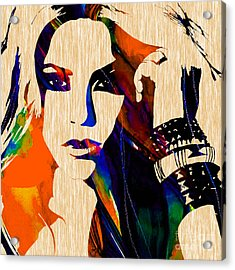 Shakira Collection Acrylic Print by Marvin Blaine