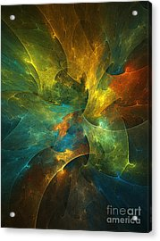 Somewhere In The Universe Acrylic Print by Klara Acel