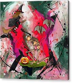 Spooky Acrylic Print by Marvin Blaine