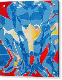 Squat Acrylic Print by Diane Fine