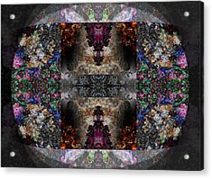 Stained Glass Acrylic Print by Christopher Gaston