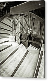 Staircase Acrylic Print by Tom Gowanlock