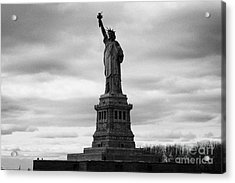 Statue Of Liberty National Monument Liberty Island New York City Acrylic Print by Joe Fox