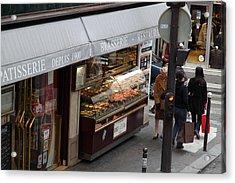 Street Scenes - Paris France - 011336 Acrylic Print by DC Photographer