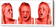 Stress Anger And Sadness Acrylic Print by Jorgo Photography - Wall Art Gallery