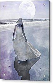 Strolling In Paradise Acrylic Print by Betsy Knapp
