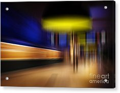 Subway Impressions Acrylic Print by Martin Dzurjanik