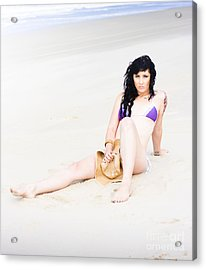 Summer Cover Up Acrylic Print by Jorgo Photography - Wall Art Gallery