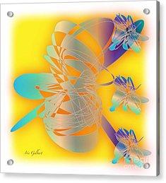 Sunshine Acrylic Print by Iris Gelbart