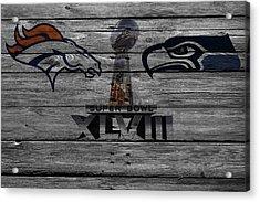 Super Bowl Xlviii Acrylic Print by Joe Hamilton