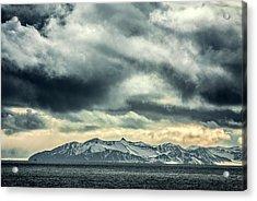 Svalbard Mountains Acrylic Print by Paul Williams