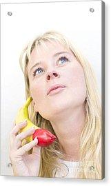 Talking Bananas Acrylic Print by Jorgo Photography - Wall Art Gallery