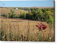 Tallgrass Prairie Acrylic Print by Jim West