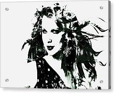Taylor Swift Enchanted Acrylic Print by Brian Reaves