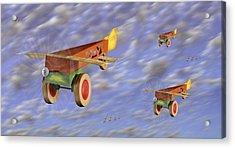 The 356th Toy Plane Squadron Acrylic Print by Mike McGlothlen