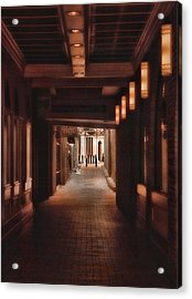 The Alleyway Acrylic Print by Joann Vitali