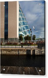 The Convention Centre Dublin , Dublin Acrylic Print by Panoramic Images