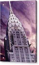 The Crysler Building Acrylic Print by Jon Neidert
