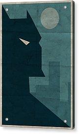 The Dark Knight Acrylic Print by Michael Myers