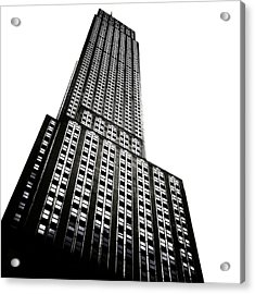 The Empire State Building Acrylic Print by Natasha Marco